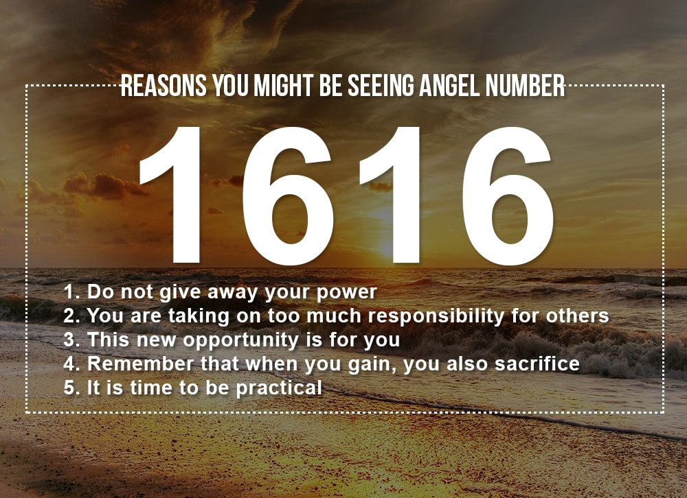 Reasons you might be seeing Angel Number 1616