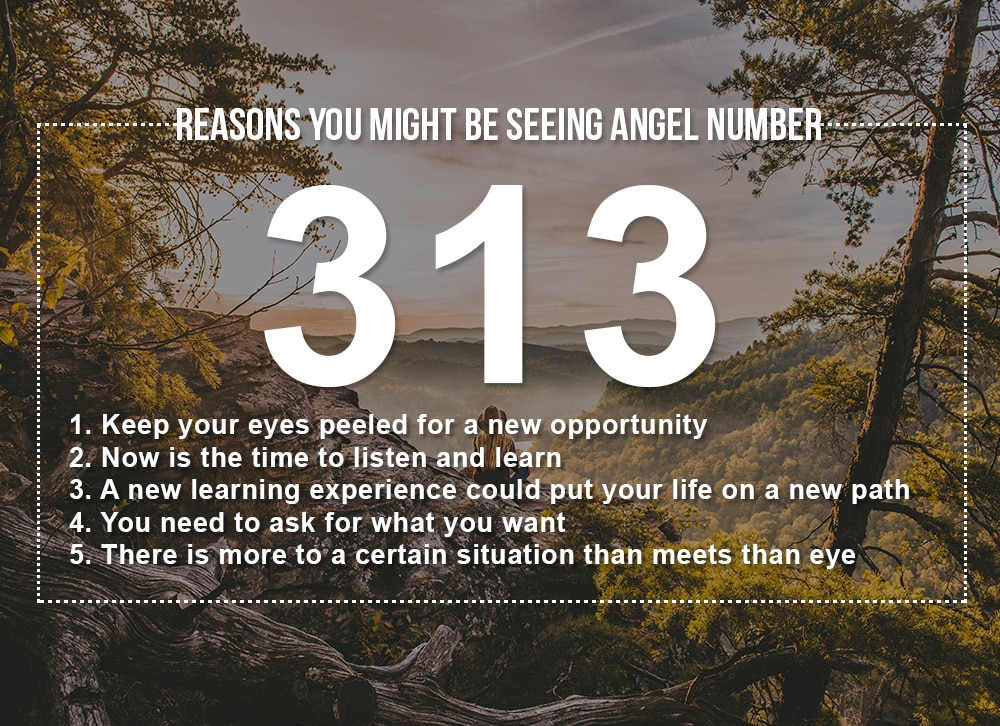 Angel Number 313 Meanings – Why Are You Seeing 313?