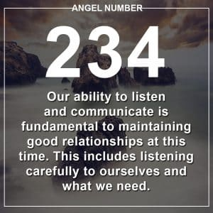 Angel Number 234 Meanings