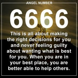 Angel Number 6666 Meanings