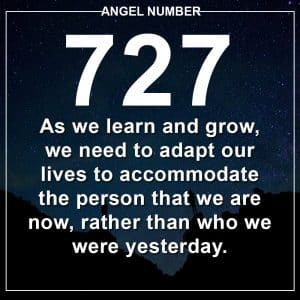 Angel Number 727 Meanings