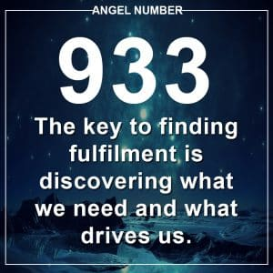 Angel Number 933 Meanings