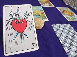 The Three of Swords Tarot Card Meaning – Minor Arcana