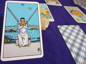 The Two of Swords Tarot Card Meaning – Minor Arcana