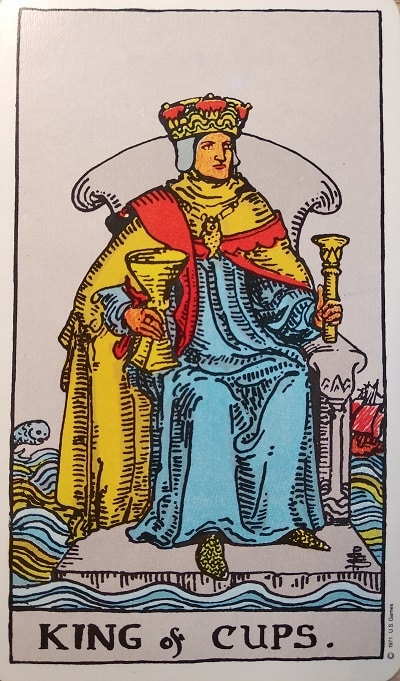 Upright King of Cups Tarot Card Meaning – Minor Arcana