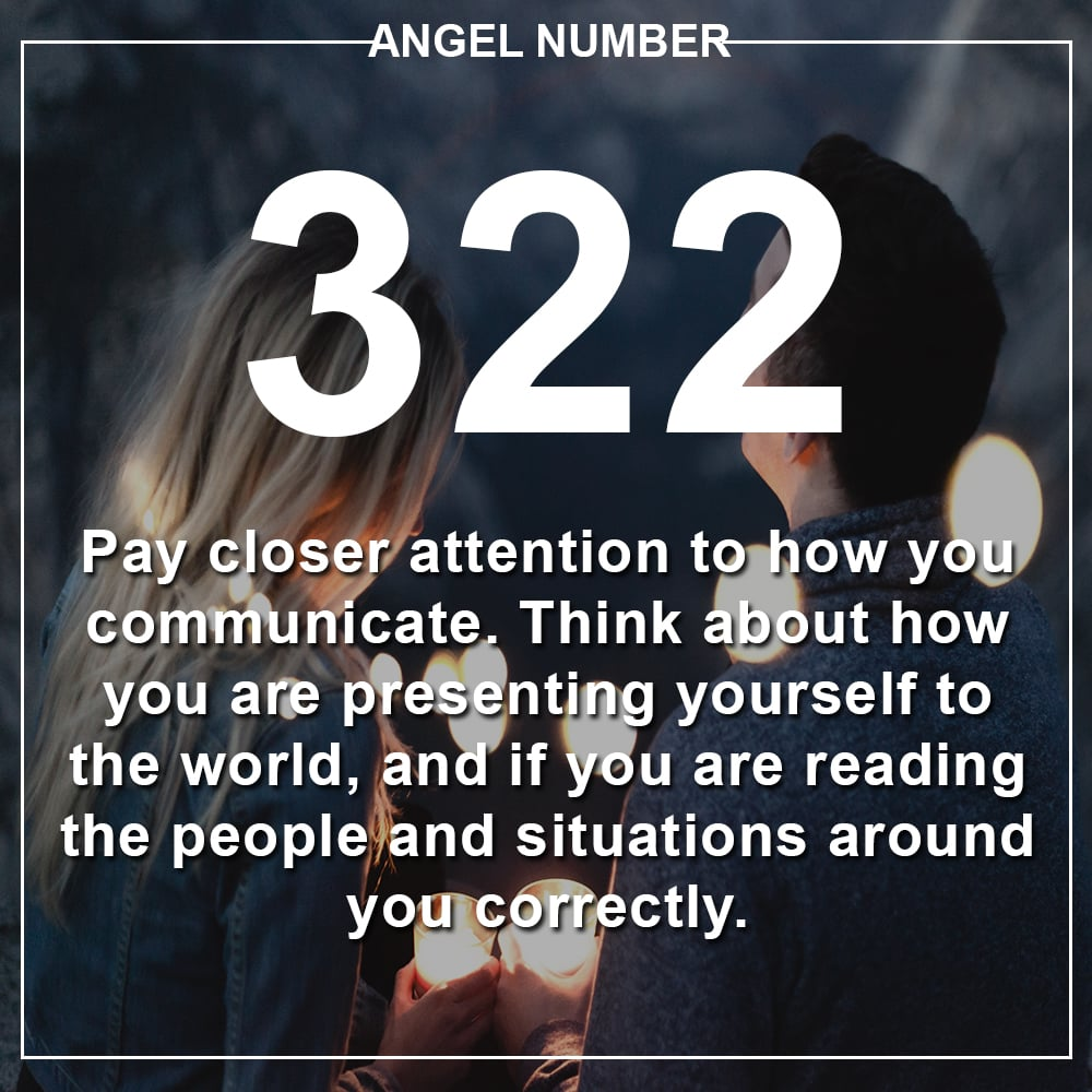 Angel Number 322 Meanings