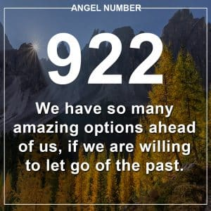 Angel Number 922 Meanings