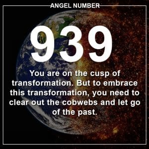 Angel Number 939 Meanings