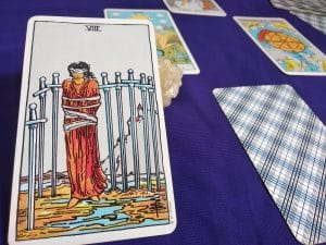 The Eight of Swords Tarot Card Meaning Upright and Reversed