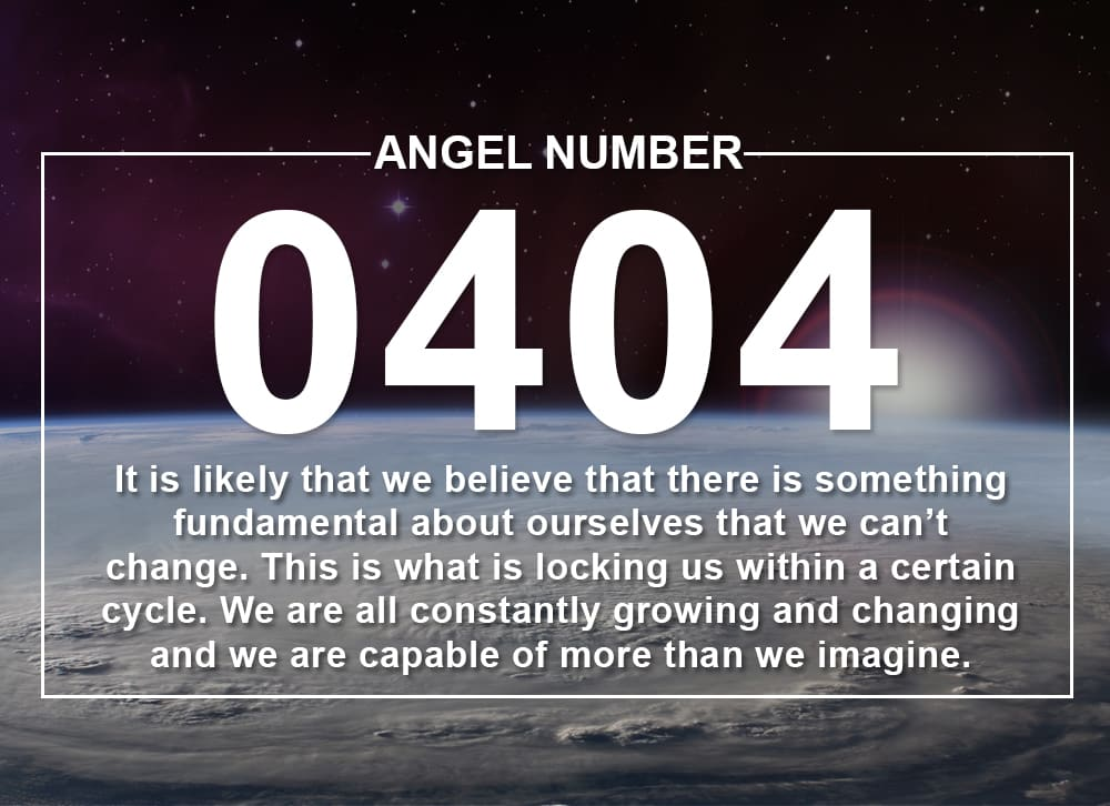 Angel Number 0404 Meanings