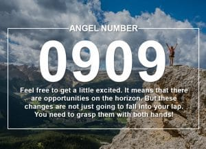 Angel Number 0909 Meanings