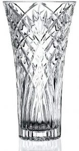 Lorren Home Trends Melodia Collection Crystal Vase