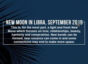 New Moon in Libra, September 2019