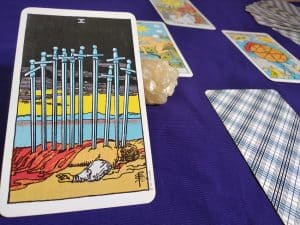 The (10) Ten of Swords Tarot Card Meaning – Minor Arcana