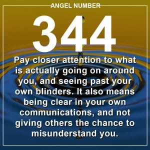 Angel Number 344 Meanings