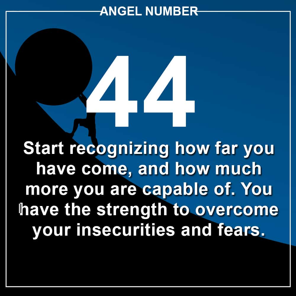 Angel Number 44 Meanings – Why Are You Seeing 44?