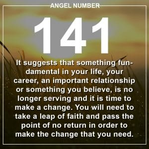 Angel Number 141 Meanings