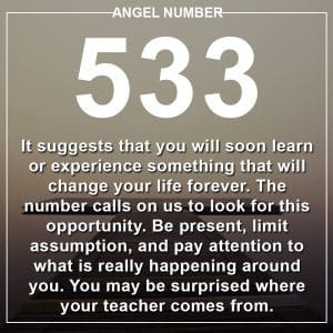 Angel Number 533 Meanings
