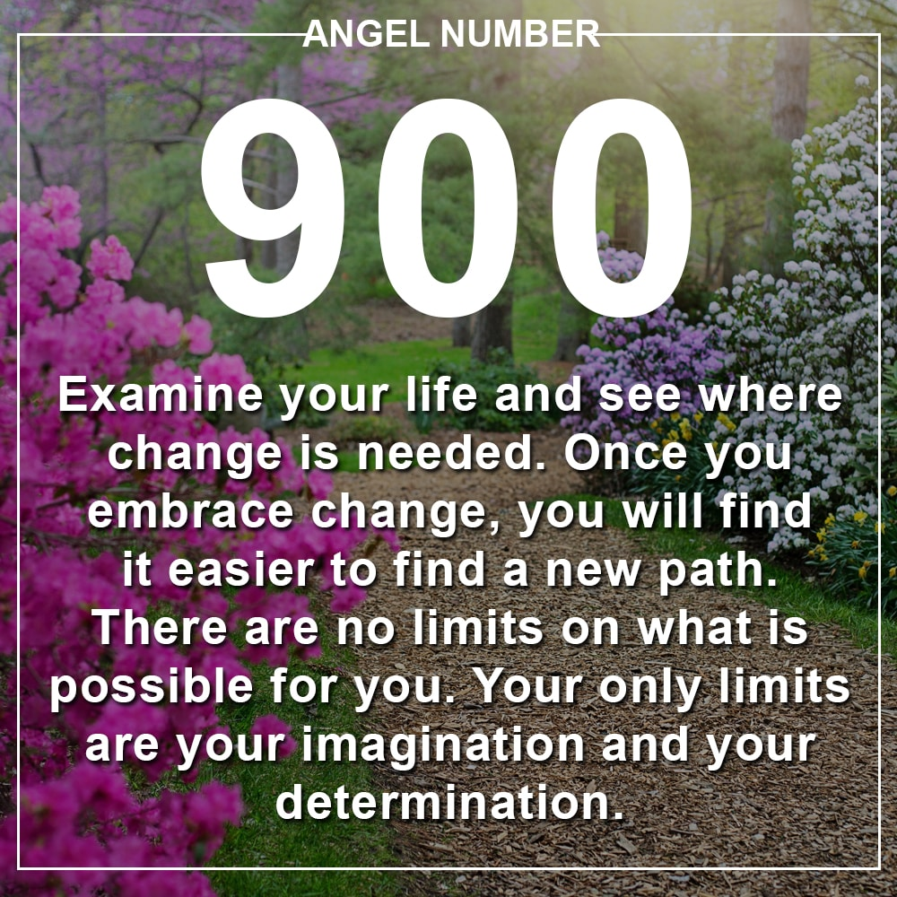 Angel Number 900 Meanings