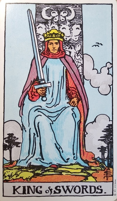 Upright King of Swords Tarot Card Meaning – Minor Arcana