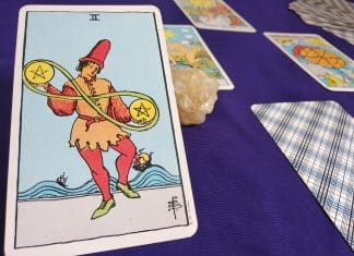 The Two of Pentacles Tarot Card Meaning – Minor Arcana