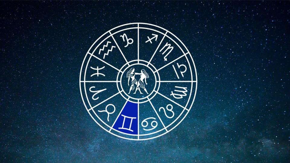 Gemini Zodiac Horoscope Wheel