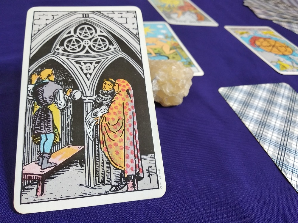 The Three of Pentacles Tarot Card Meaning Upright and Reversed
