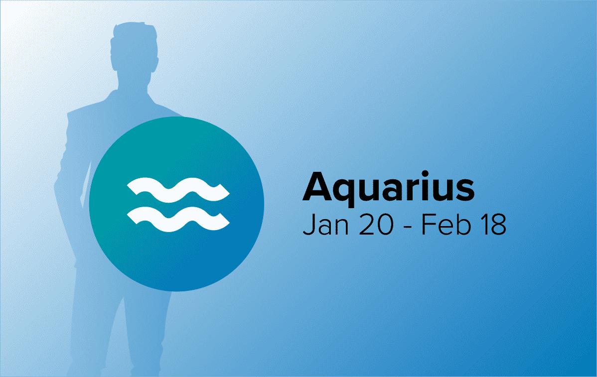 Aquarius Man with Zodiac Sign Dates