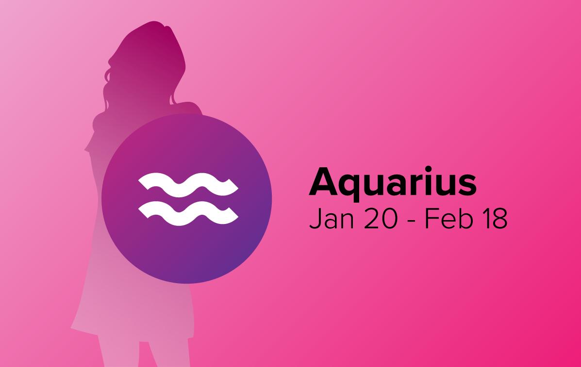 Aquarius Woman with Zodiac Sign Dates