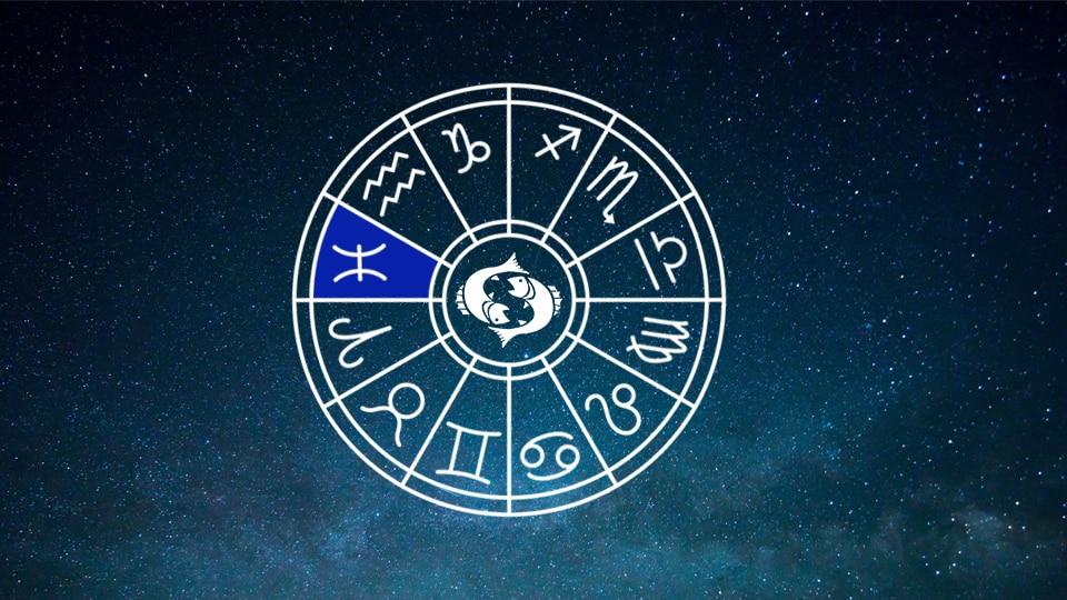 Pisces Zodiac Sign Horoscope Wheel