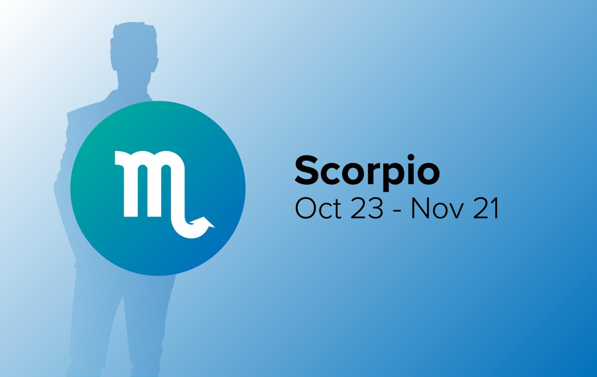 Scorpio Man with Zodiac Sign Dates