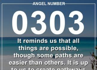 Angel Number 0303 Meanings
