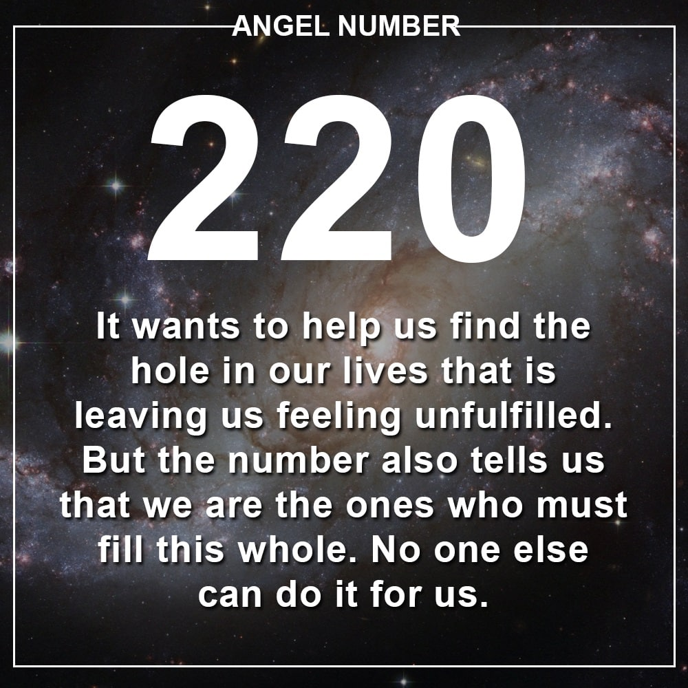 Angel Number 220 Meanings