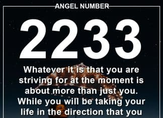 Angel Number 2233 Meanings