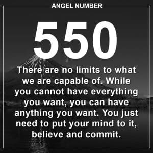Angel Number 550 Meanings