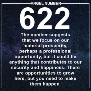 Angel Number 622 Meanings