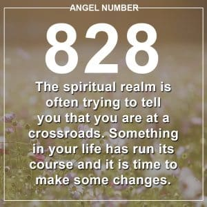 Angel Number 828 Meanings