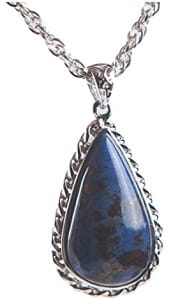 Aquarius woman pendant necklace