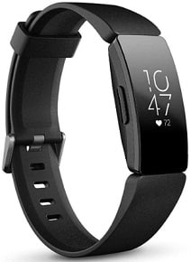 Fitbit fitness and heart rate tracker