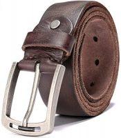 Genuine Italian leather belt