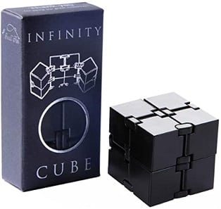 Infinity fidget cube for Aquarius men