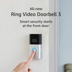 Ring Video Doorbell 3 – 1080p HD video