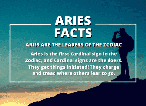 Aries Zodiac Sign Facts