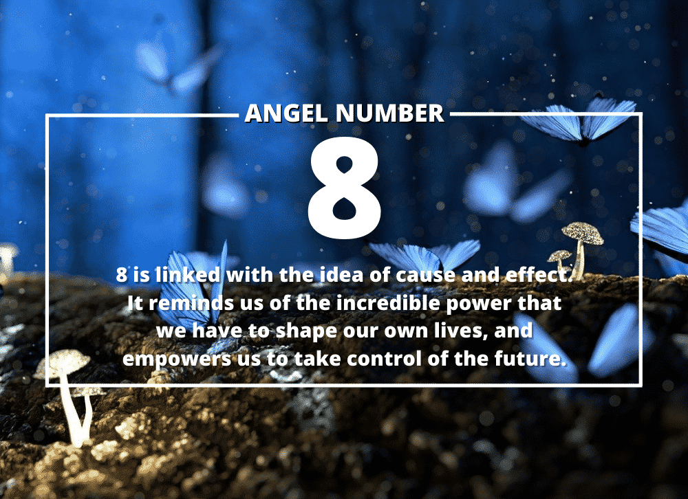 Angel Number 8 Meanings