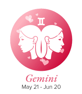 Gemini Compatibility Zodiac Sign Symbol with Dates