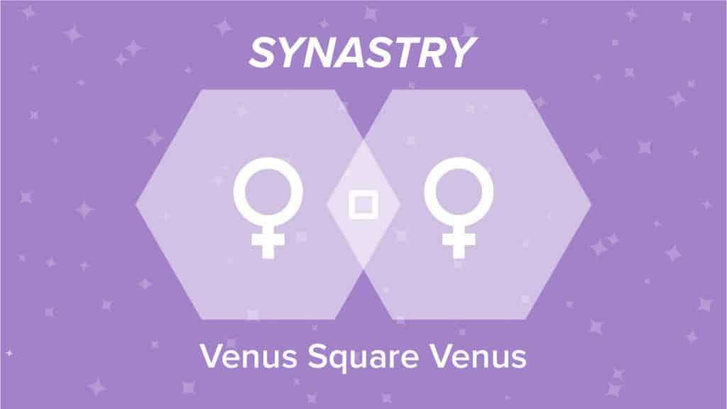 Venus Square Venus Synastry