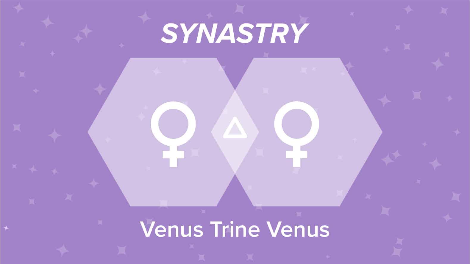 Venus Trine Venus Synastry