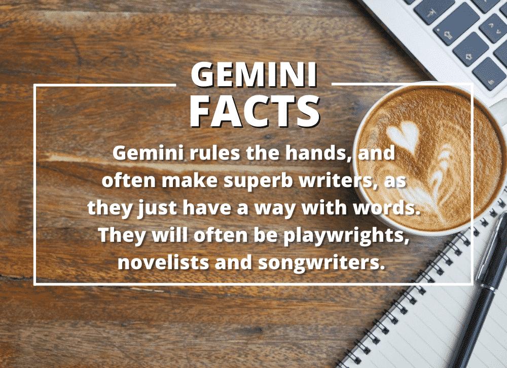 Interesting Gemini Zodiac Sign Facts