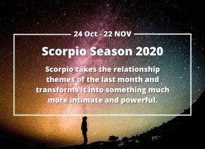 Scorpio Season 2020 Sun Sign Horoscope