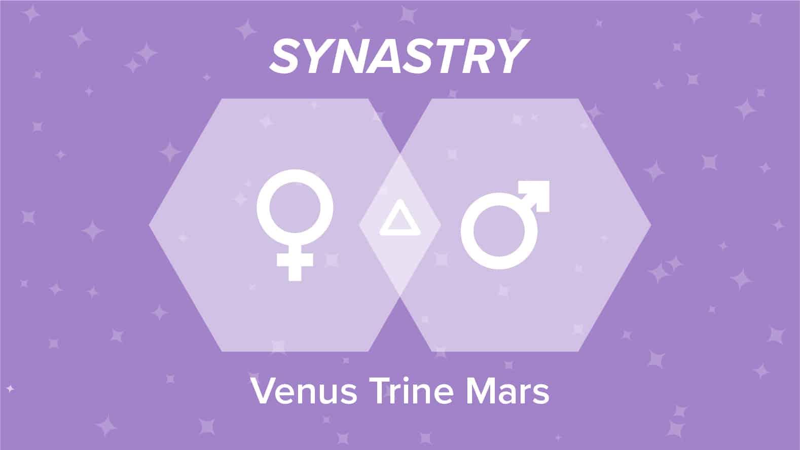 Venus Trine Mars Synastry
